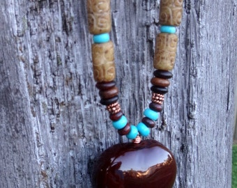 Child of the Earth Sea Heart Necklace