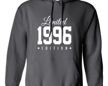 1996 Limited Edition 2015 B-day Hoodie 19th Birthday Gift Cool swag mens womens ladies hoodie hooded sweatshirt sweater Unisex TH-190