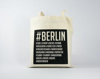 Berlin Hashtag - Tote Bag