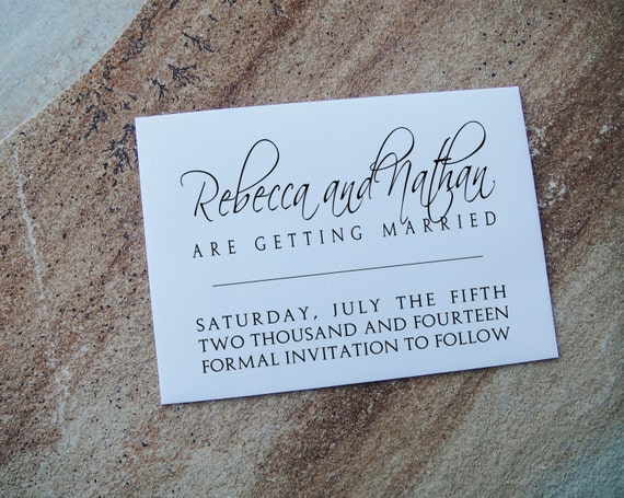 Personalized Rubber Stamps For Wedding Invitations: Custom Rubber Stamp, Custom Wedding Invitations