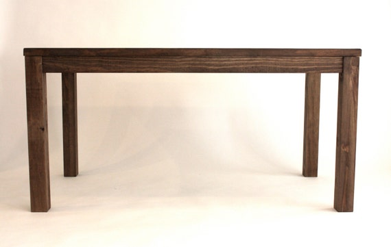 Reclaimed Wood Parsons Dining Table // 30