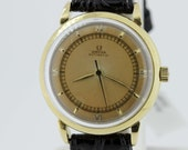 14K Gold Omega Automatic Wrist Watch