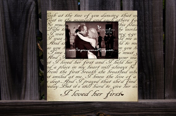 ANY Song Lyrics Picture Frame, Personalized Gift, Custom