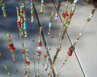 Glass Beaded Mobile/suncatcher/glass beads