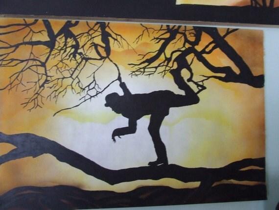 Tom Waits Painting