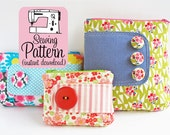 Zip Pouches PDF Sewing Pattern | Cosmetic Pouch Sewing Pattern | Makeup Bag Storage Case | Zipper Pouch Sewing Pattern | Zipper Bag Pattern
