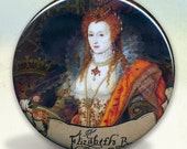 Elizabeth I of England Royality Pocket Mirror tartx