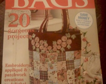 Stunning BAGS No. 3 Australian Magazine- 2013,  tutorials, projects, quilting, sewing, techniques, bag making