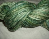 Climbing Ivy Hand Painted Silk Lace Yarn