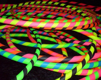 """Rainbow Dragon Children's/Small 30"""" HULA HOOP (Kid's/Weighted/Heavy/Professional)"""