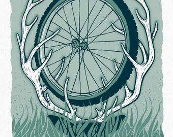 Wild Ride - Screenprinted Art Print