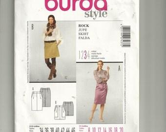 Burda Style Skirt Pattern 7437