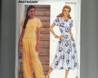 Butterick Misses' /Misses' Petite Dress and Jumpsuit Pattern 3914