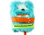 Nightmare Snatcher children's monster journal, Bearty Bouts aqua monster book