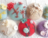Embroidered button, cashmere button, beaded button, floral button, beaded button, floral button, price per button