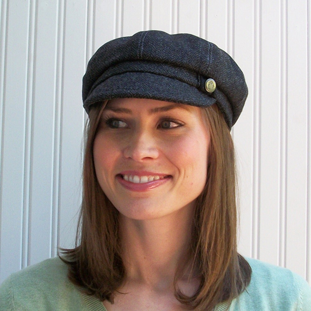4a3acfeda9138 Charcoal Grey Wool Newsboy Cap : Womens Hat Newsboy Hat