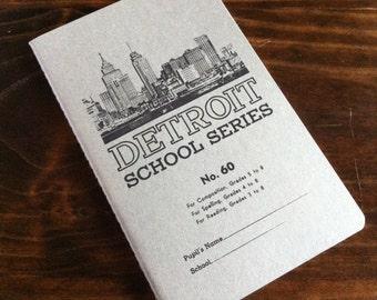 Detroit School Series Notebook