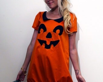 Pumpkin Dress MADE TO ORDER