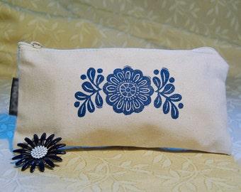 Floral Arch Zip Pouch