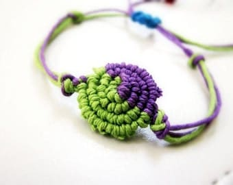 Macrame Hemp Friendship Bracelet