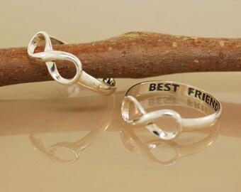 Best Friend Rings Original Twist Design