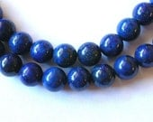 Natural Lapis Blue Beads  8mm Lapis Beads  (22)
