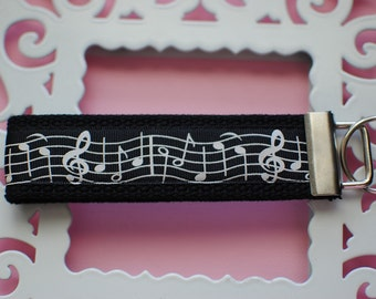 Music Notes Key Fob