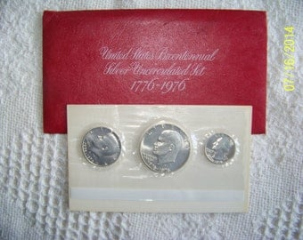 United States Bicentennial Silver Uncirculated set 1776-1976