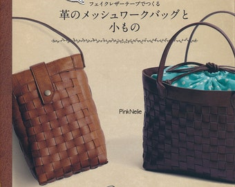 Leather Mesh Work Bags -  Japanese Craft Book