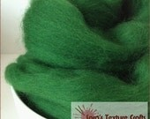 Merino 64s (21 Micron) Top for Felting, Dreads, Spinning - Forest (10g, 25g, 50g, 100g)