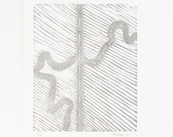 North Branch Sunrise River letterpress map