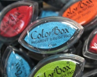 ColorBox Cat's Eye PIGMENT Ink Pad - CYAN
