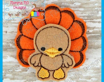 Baby Turkey Machine Embroidery Design