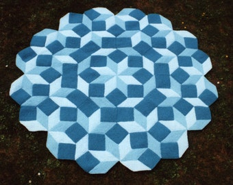 Penrose - PDF pattern for knitted afghan