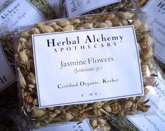 Organic Jasmine Flowers Herb Packet