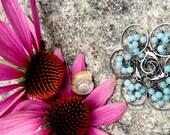 Bridesmaid Hooped Cluster Earrings