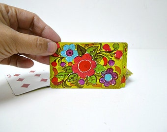 1960 vintage playing cards . 1 set