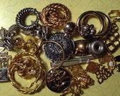 30 destash vintage charms and parts