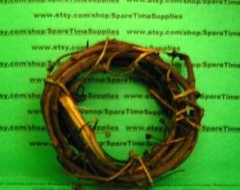 "GPV-4  Grapevine Ring Wreath 4"" 3pc"