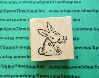 DEL-E516 Twinkle Toes - Mounted Rubber Stamp