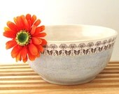 Serving Bowl - Ready to Ship - Mixing Bowl - 48 ounce - Hand Made Stoneware Bowl