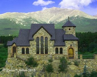 St Malo Church Colorado 8x10 print
