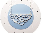 Cumulus Cloud Necklace / Handcrafted Eco Sterling Silver Large Cloud Pendant Necklace Handcrafted by Ginny Reynders #makeforgood Australia