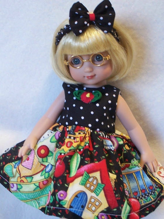 "YOUR CHOICE Of Doll Dress For AG 14"" American Girl Wellie Wishers Ann Estelle Betsy McCall Ginny Corolle"