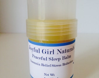 Natural Calming Sleep Balm