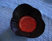 SALE - Star Trek Recycled Vinyl Record Album Bowl