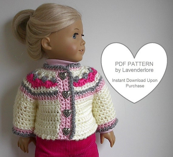 Icelandic Style Sweater Crochet Pattern