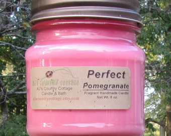 PERFECT POMEGRANATE CANDLE - Strong