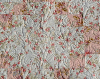 Shabby Chic lap quilt