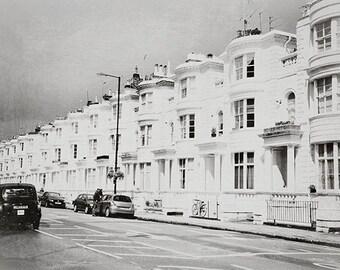 Row - London Art Print, London Landscape Photography by Leigh Viner